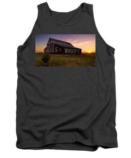 Aggie Sunset Tank Top by Jonathan Davison