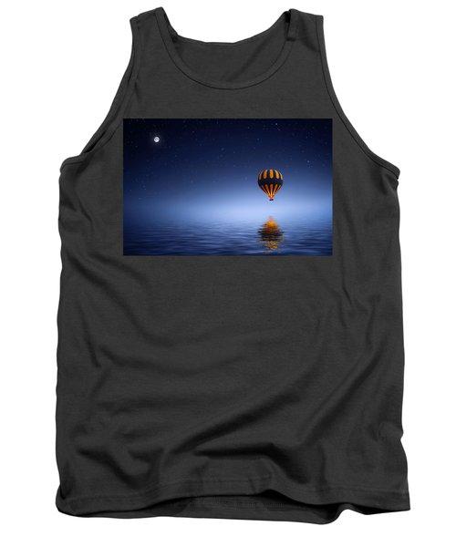 Tank Top featuring the photograph Air Ballon by Bess Hamiti