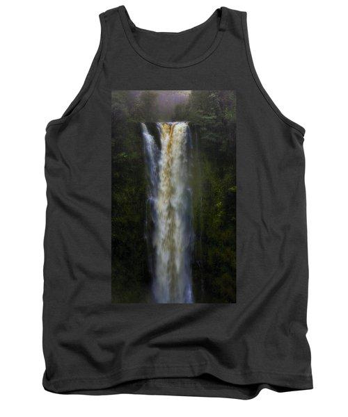 Tank Top featuring the photograph Akaka Falls by Ellen Heaverlo