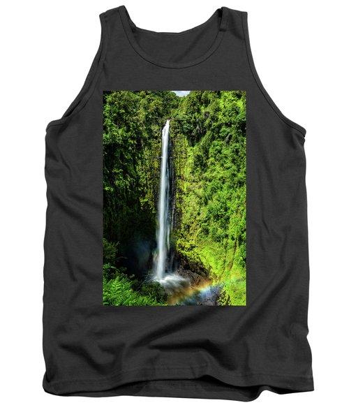 Akaka Falls With Rainbow Tank Top
