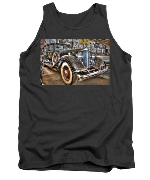 Al Capone's Packard Tank Top by Nicholas  Grunas