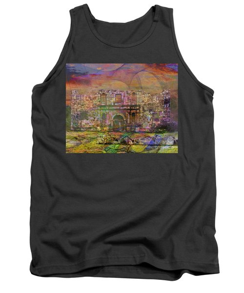 Alamo - After The Fall Tank Top by John Robert Beck