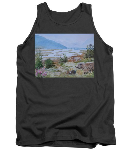 Alaska - Denali 2 Tank Top by Christine Lathrop