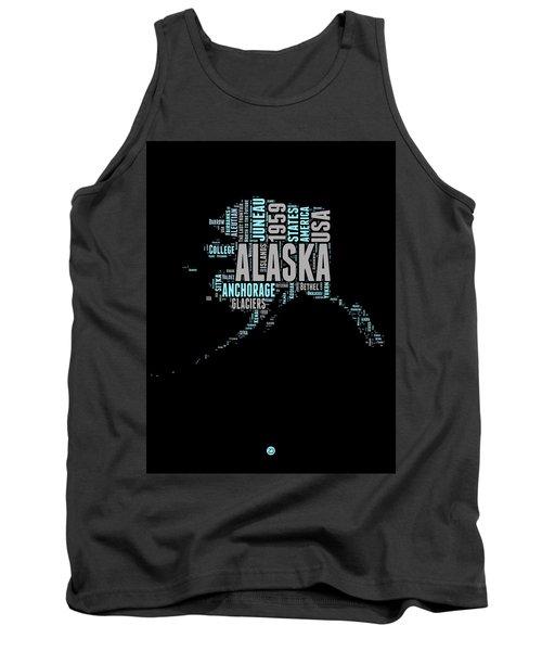 Alaska Word Cloud 1 Tank Top