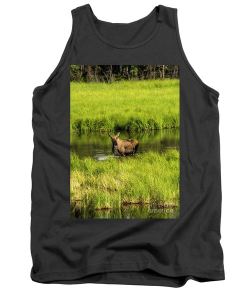 Alaskan Moose Tank Top