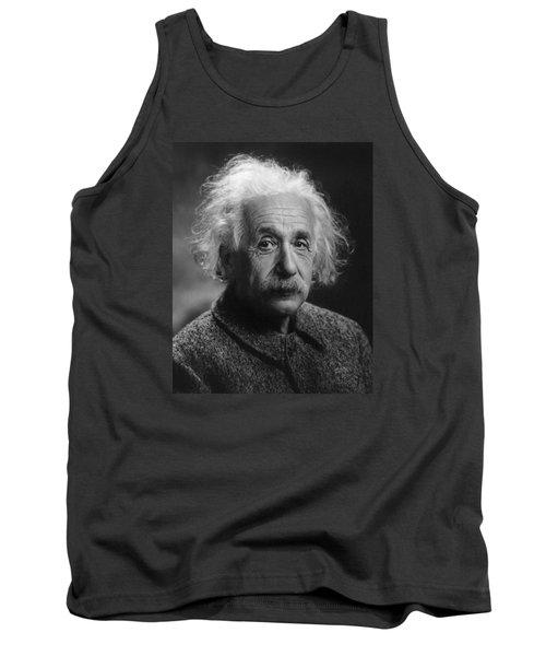 Albert Einstein, 1947. Age 68. Tank Top