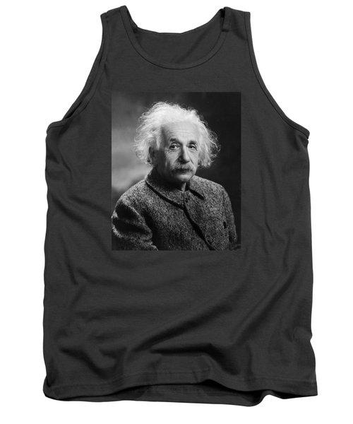 Albert Einstein Tank Top by Oren Jack Turner