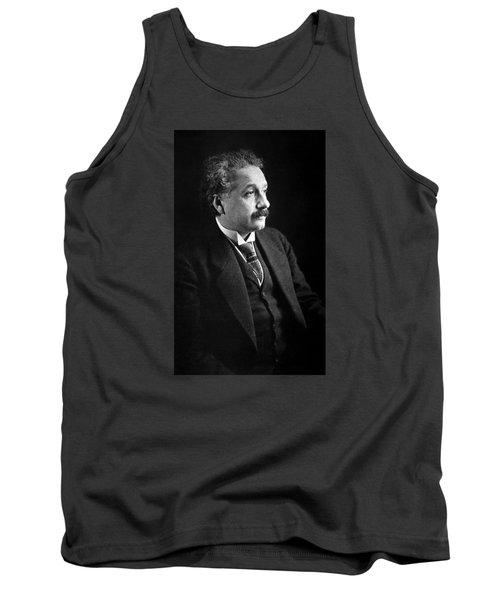 Albert Einstein Photo 1921 Tank Top