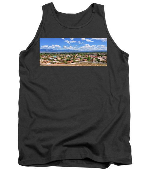 Tank Top featuring the photograph Albuquerque West Side by Gina Savage