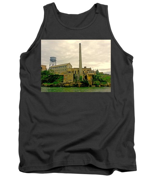 Alcatraz From The West Tank Top