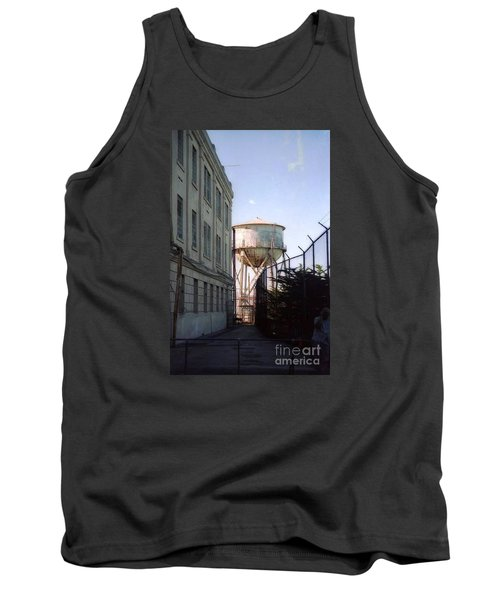 Alcatraz Water Tank  Tank Top