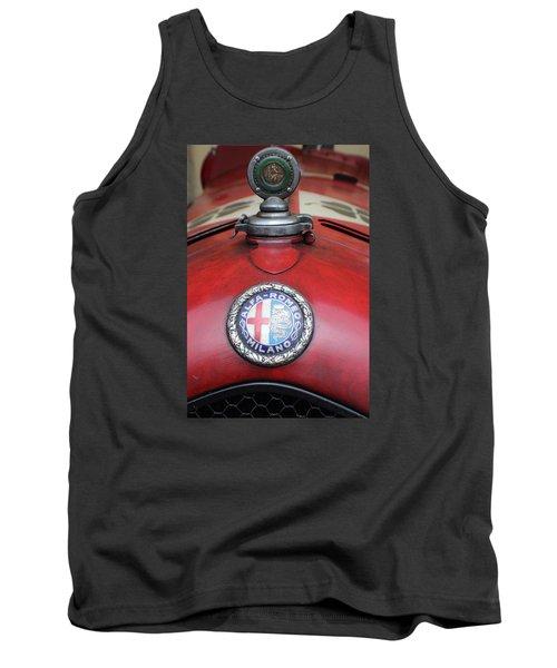 Alfa Romeo 8c 2600 Muletto Tank Top