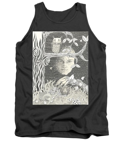 Alice Syndrome Tank Top by Melinda Dare Benfield