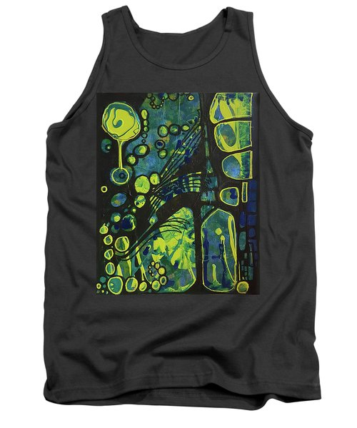 Alien Blue #2 Tank Top