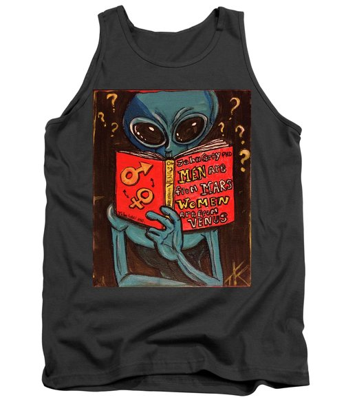 Alien Looking For Answers About Love Tank Top