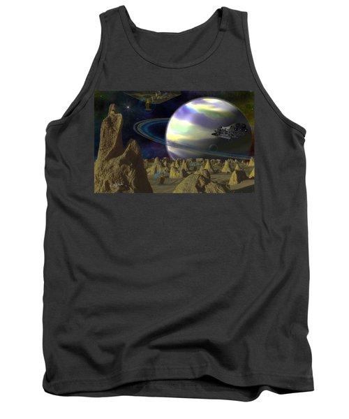 Alien Repose Tank Top