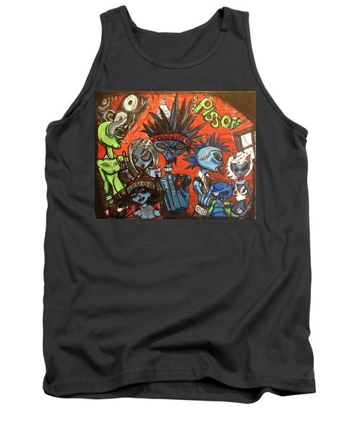 Aliens With Nefarious Intent Tank Top