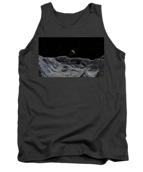 Tank Top featuring the digital art All Alone by David Robinson