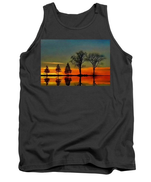 Tank Top featuring the photograph All In A Row  by Andrea Kollo