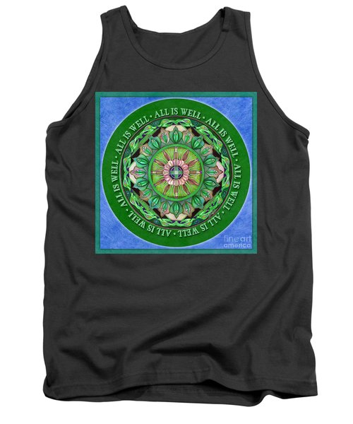 All Is Well Mandala Prayer Tank Top