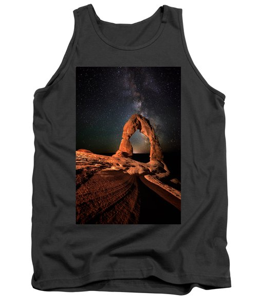 All Lines Lead To Delicate Arch Tank Top