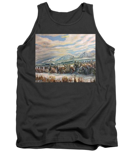 All Of Creation Waits Tank Top