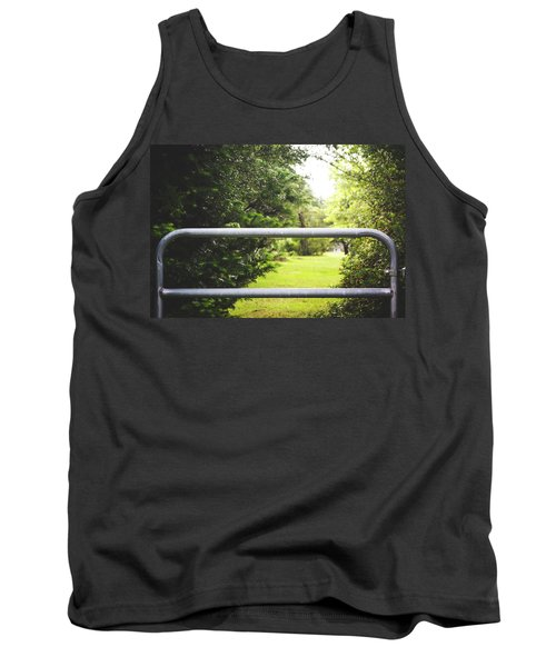 Tank Top featuring the photograph All Things Green by Shelby Young