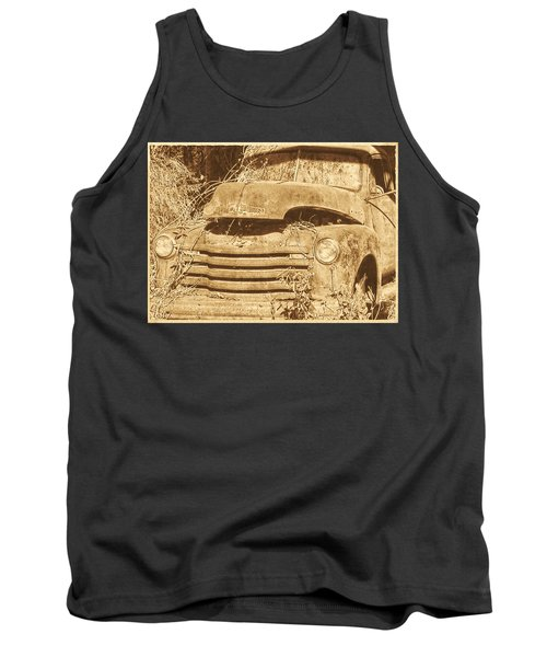 Tank Top featuring the photograph All Used Up by Victor Montgomery