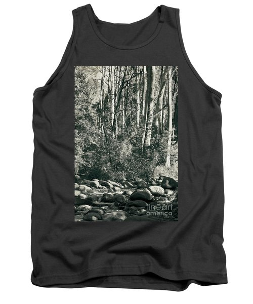 All Was Tranquil Tank Top by Linda Lees