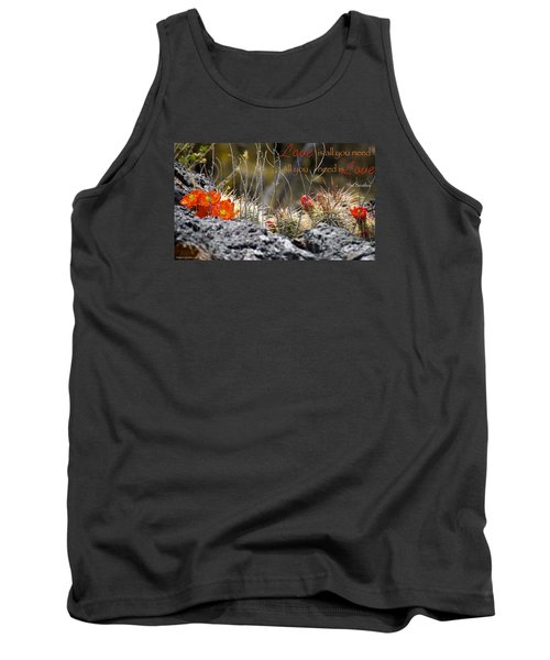 Tank Top featuring the photograph All We Need by David Norman