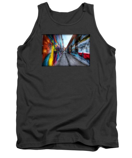 Tank Top featuring the photograph Alley by Michaela Preston