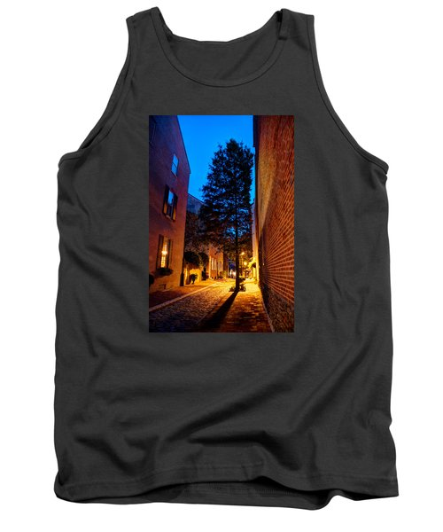 Tank Top featuring the photograph Alleyway by Mark Dodd