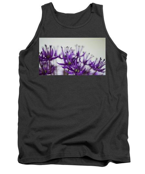 Allium Aflatunense Sideview Tank Top