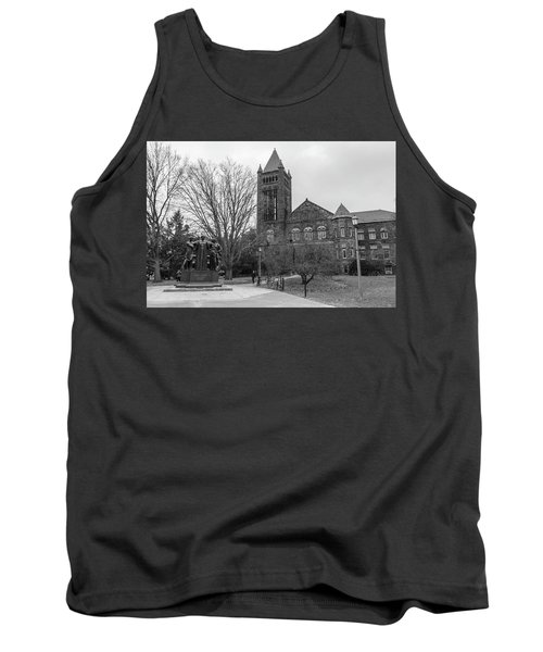 Alma Mater And Law Library University Of Illinois  Tank Top