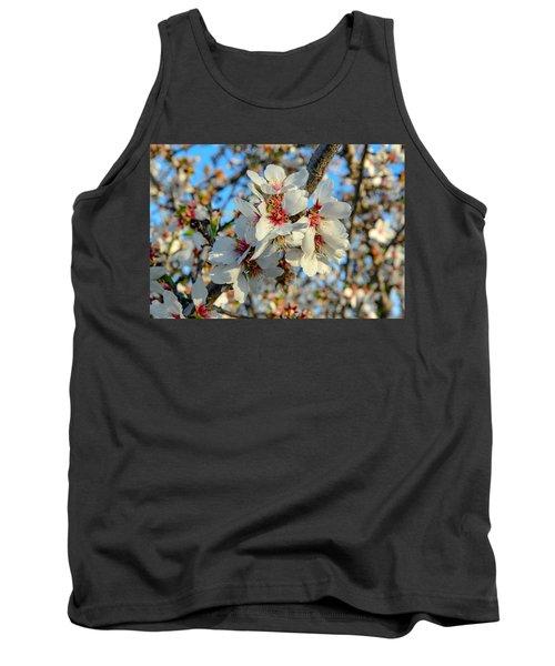 Almond Blossoms Tank Top