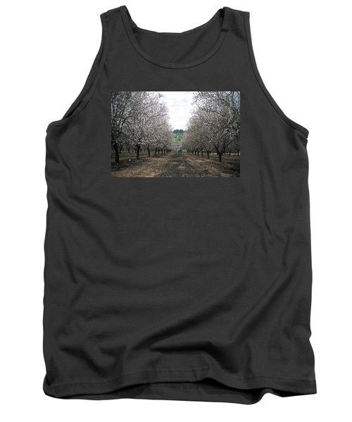 Tank Top featuring the photograph Almonds Of Lachish by Dubi Roman