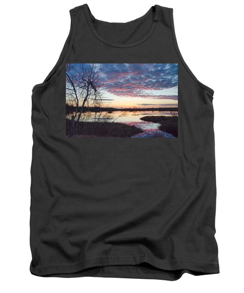 Almost Spring Sunset Tank Top