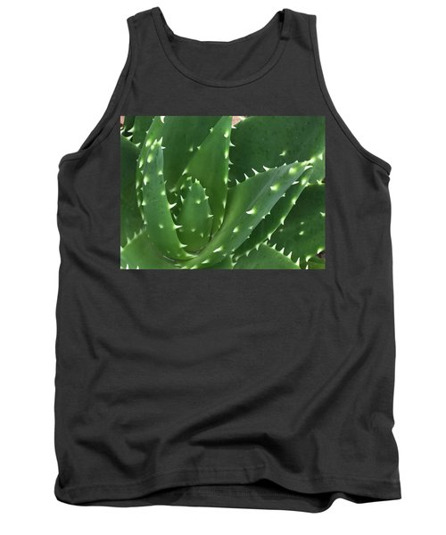 Aloe-icious Tank Top by Russell Keating