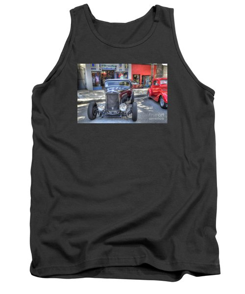 Aloha Cars And Pinups Tank Top