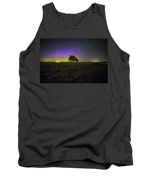 Tank Top featuring the photograph Alone by Aaron J Groen