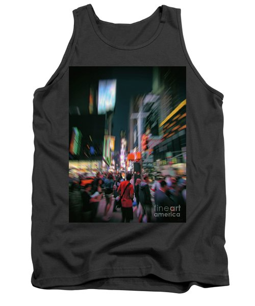 Alone In New York City 1 Tank Top