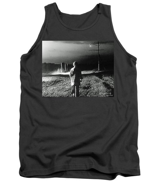 Tank Top featuring the photograph Alone by Lyric Lucas