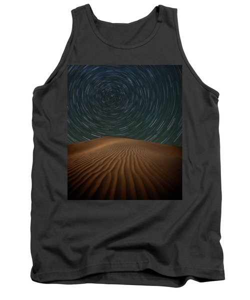 Tank Top featuring the photograph Alone On The Dunes by Darren White