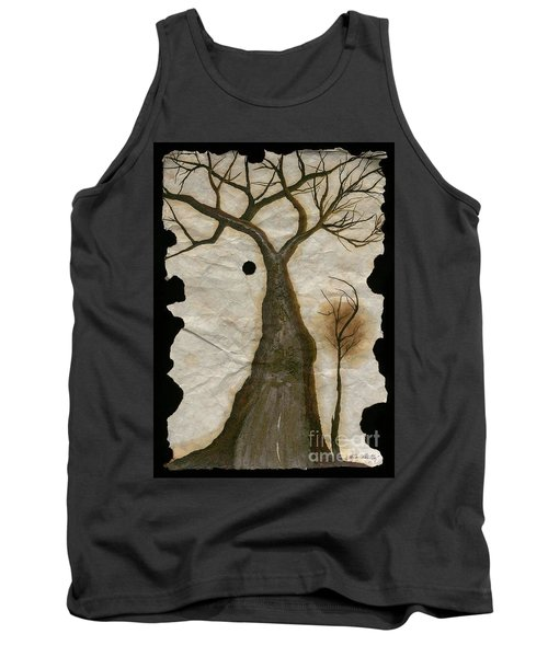 Along The Crumbling Fork In The Road Of The Tree Of Life Acfrtl Tank Top by Talisa Hartley