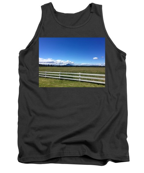 Along The Fence Line Tank Top