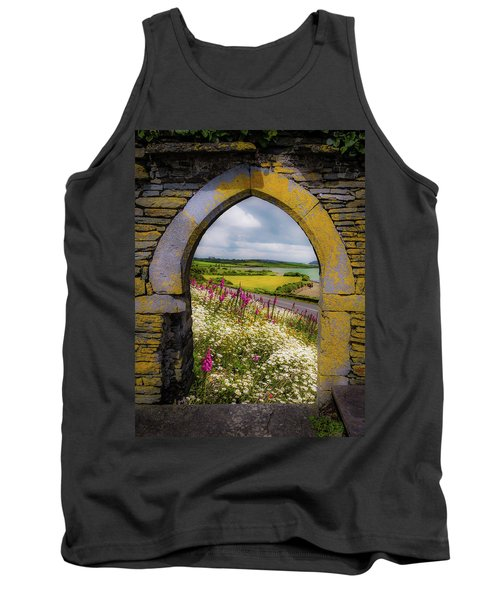 Tank Top featuring the photograph Along The Shannon Estuary by James Truett
