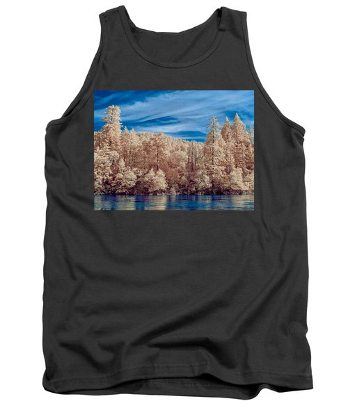 Along The Smith River In Infrared Tank Top