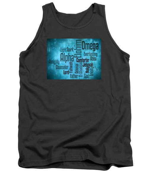 Tank Top featuring the digital art Alpha by Angelina Vick