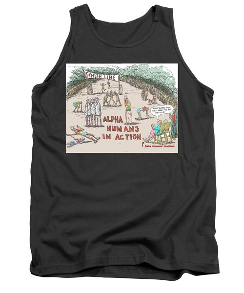 Alpha V. Beta Tank Top