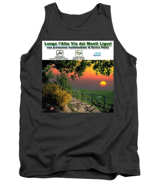 Alta Via Dei Monti Liguri Cd Case Label Tank Top